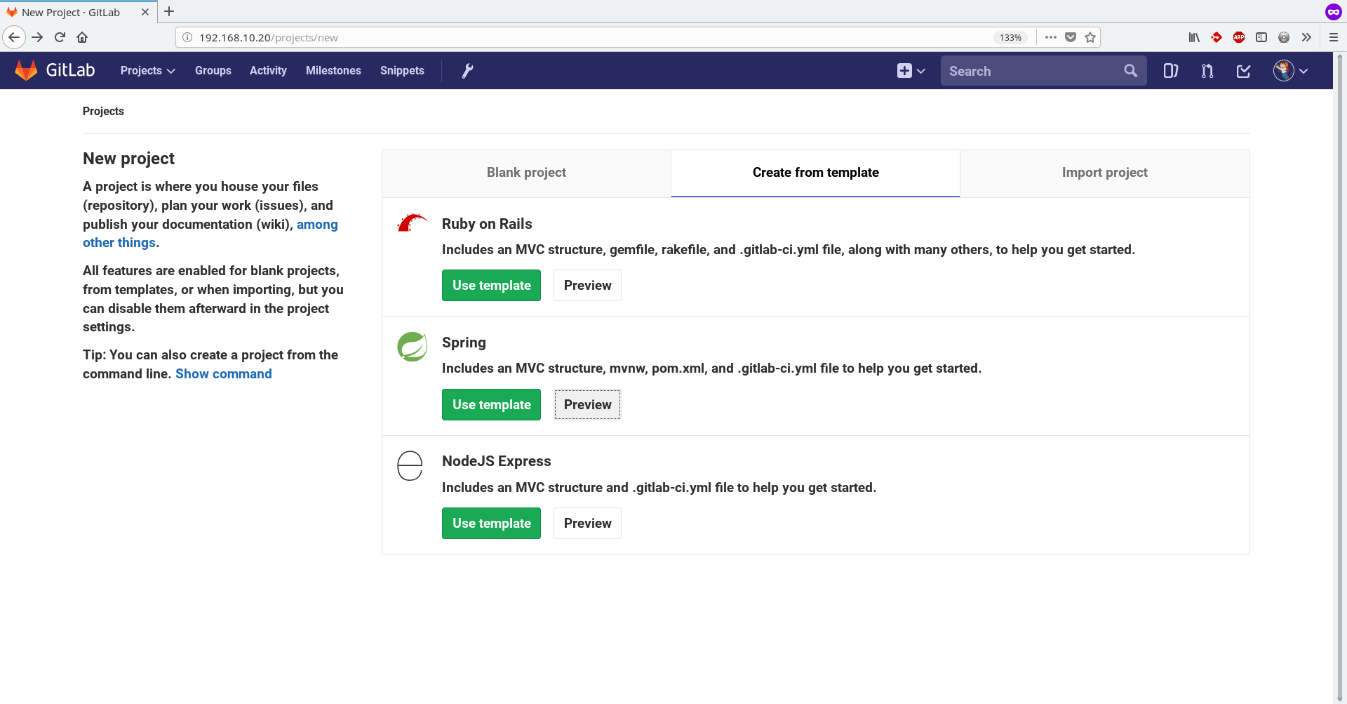 From dev to prod with GitLab CI